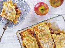 Deserowa lasagne z jabłkami