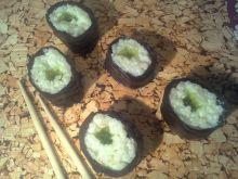 Deserowe sushi- hosomaki