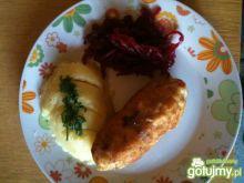 dewolaj z kurczaka z pieczarkami