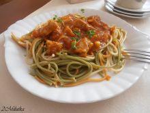 Diabelskie spaghetti trójkolorowe
