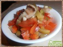 Dietetyczna sałatka