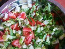 Dietetyczna sałatka warzywna