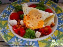 Dietetyczna sałatka z jajkiem