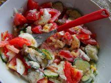 Dietetyczna sałatka z pomidorów