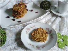 Dietetyczne ciasteczka owsiane z marchewką