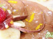 Dietetyczne-czekoladowe naleśniki