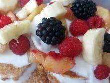 Dietetyczne placuszki z mąki pełnoziarnistej