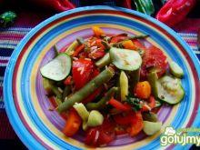 Dietetyczne warzywa z ryżem