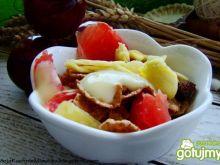 Dietetyczny deser z grejpfrutem