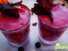 Dietetyczny deser z hibiskusa