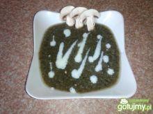 Dietetyczny krem z pieczarek