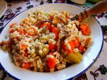 Dietetyczny pęczak z warzywami