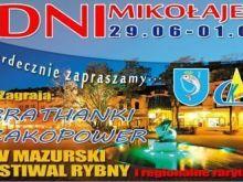 Dni Mikołajek z V Mazurskim Festiwalem Rybnym