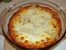 Domowa lazania z mozzarellą
