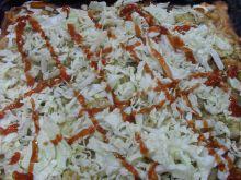 Domowa pizza kebabowa