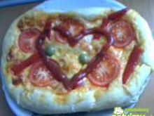 Domowa pizza wegetariańska