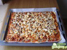 Domowa  Pizza  z  Gyrosem