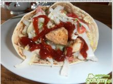 Domowa Tortilla z kurczakiem