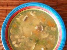 Domowa zupa pieczarkowa
