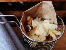 Domowe chipsy ziemniaczane z mikrofali