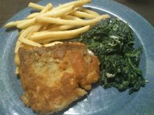 Domowe fish and chips