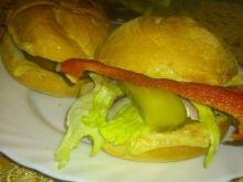 Domowe hamburgery zdrowe