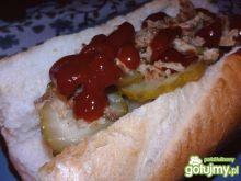 Domowe hot dogi z bryndzą