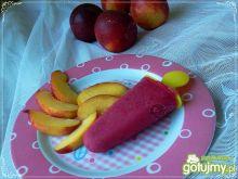 Domowe lody jogurtowo-malinowe
