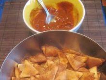 Domowe nachos z mąki kukurydzianej