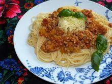 Domowe spaghetti w wersji z cukinią