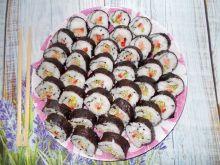 Domowe sushi z kiełkami