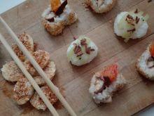 Domowe tropiki, czyli słodkie sushi (nigiri, maki)