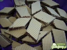 Domowe wafle czekoladowe