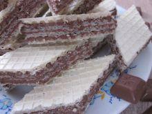 Domowe wafle z kakao
