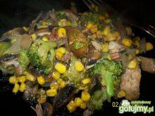 Domowe warzywa na patelnię