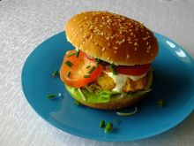 Domowy Chicken Burger