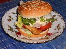Domowy Chicken burger
