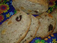 Domowy chlebek z bakaliami