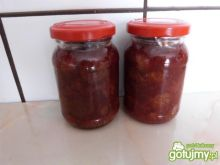 Domowy dżem truskawkowo-agrestowy
