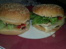 Hamburger w bułce