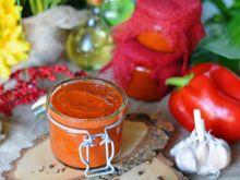Domowy ketchup z czerwonej papryki