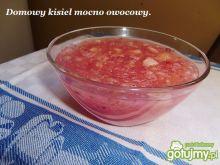 Domowy kisiel mocno owocowy