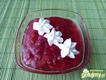 Domowy kisiel truskawkowy
