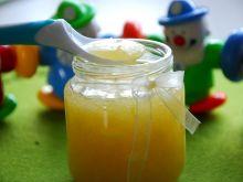 Domowy kisiel z jabłuszkiem