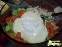 domowy majonez z czoskowym aromatem
