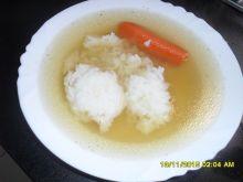Domowy rosół z ryżem