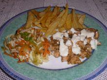 Domowy smaczny kebab