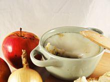 Domowy smalec z jabłkami i cebulką