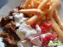 Domowy zestaw kebabowy