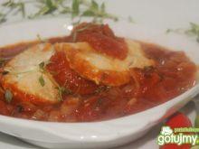 Dorsz w tymiankowych pomidorach